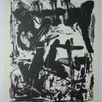 Emilio Vedova Lithography