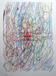 Hermann Nitsch Drawing  1