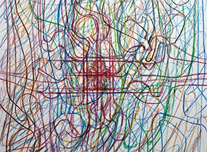 Hermann Nitsch Drawing 1