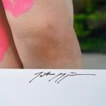 Tatsuo Miyajima Counter Skin Signature