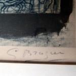 Geroge Braque Signature