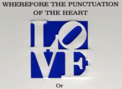 Robert Indiana Love Poem Detail