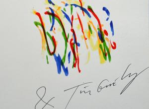 Jean Tinguely Signature
