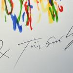 Jean Tinguely Meta-Matic No.8 Signature