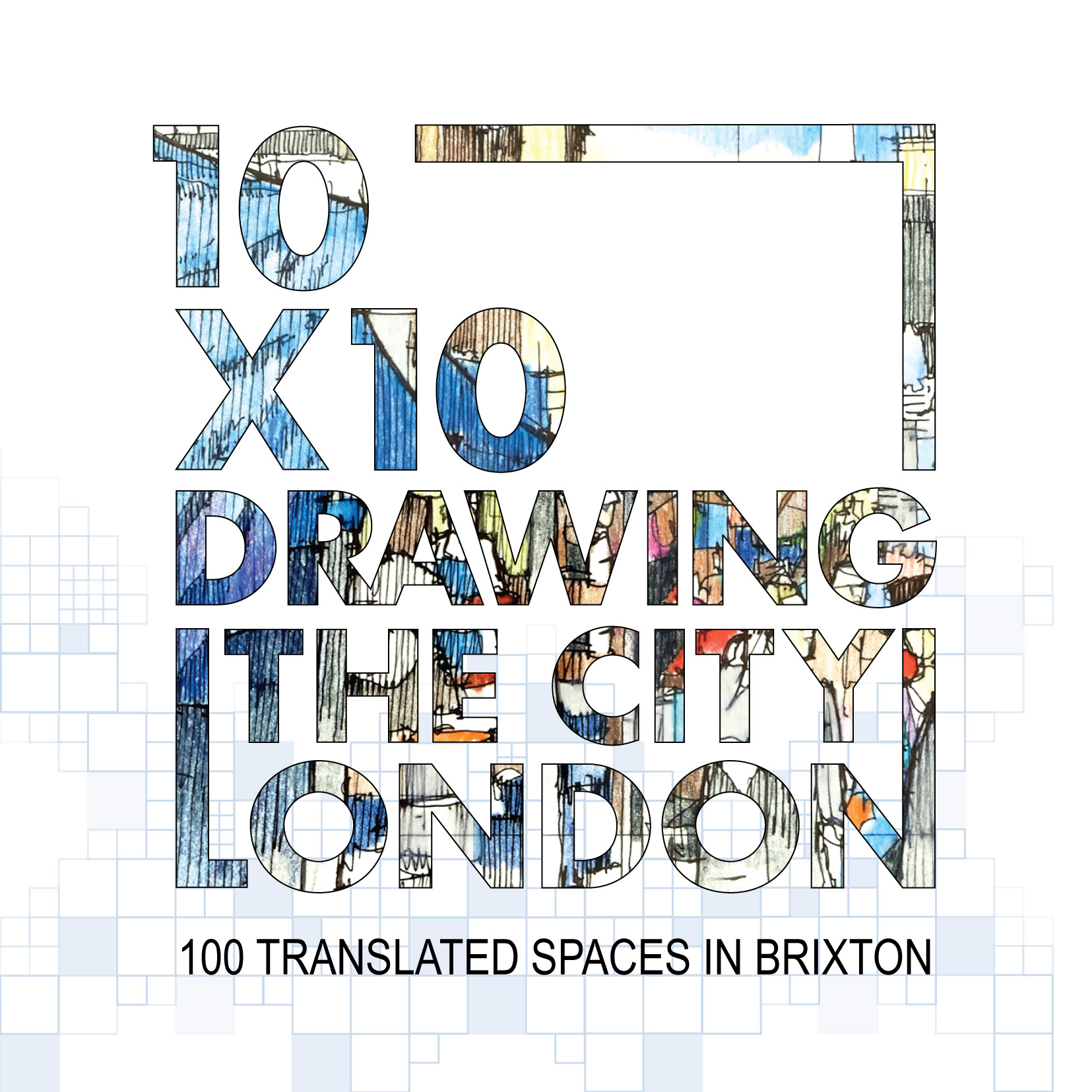 One Line Art Action : Drawing the city london charity art auction
