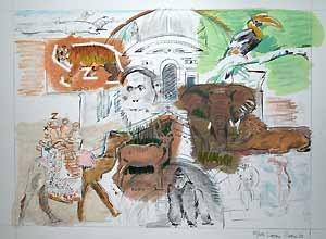 Larry Rivers Bronx Zoo
