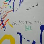 De Kooning Signature