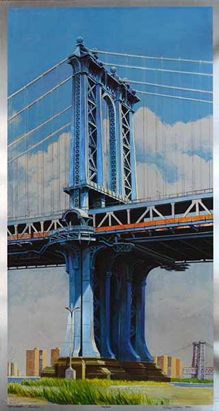 Richard Haas Manhattan Bridge