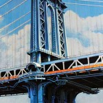 Richard Haas Manhattan Bridge Detail