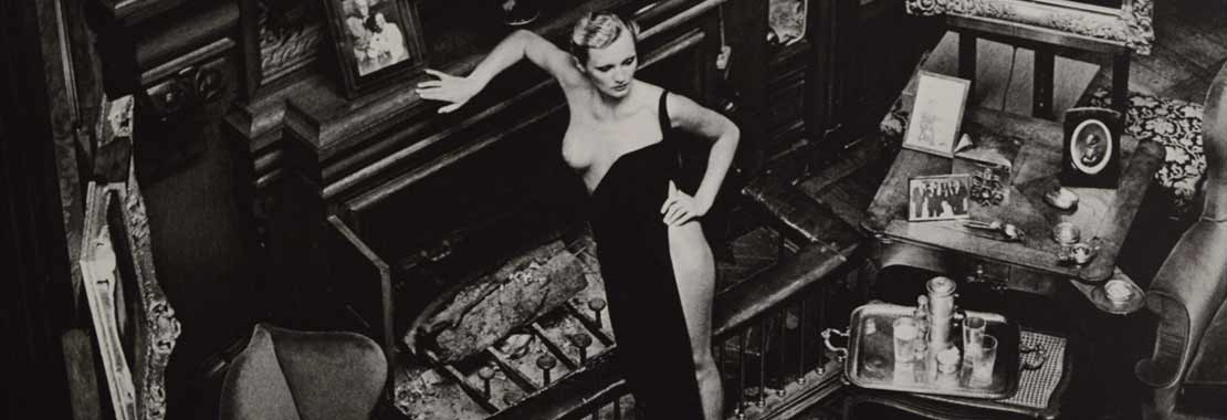 Helmut Newton Roselyne at Arcangues