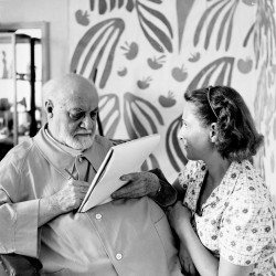 Matisse and Picasso,  the comedy of the model