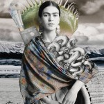 Tan Tolga Demirci Portrait of Frida KahloTan Tolga Demirci Portrait of Frida Kahlo