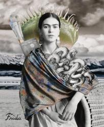 Tan Tolga Demirci Portrait of Frida KahloTan Tolga Demirci Portrait of Frida Kahlo