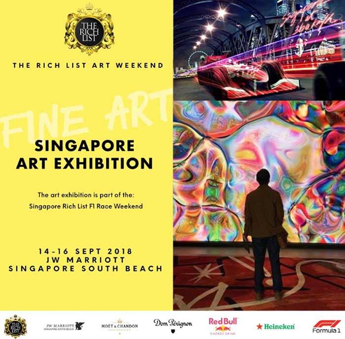 the rich list art singapore weekend