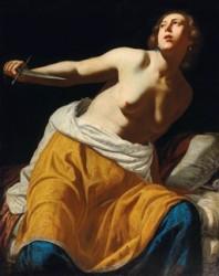 Artemisia Gentileschi (1593 - 1653) Lucretia