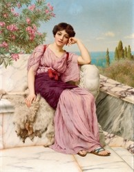 John William Godward (1862 - 1922) Sweet dreams