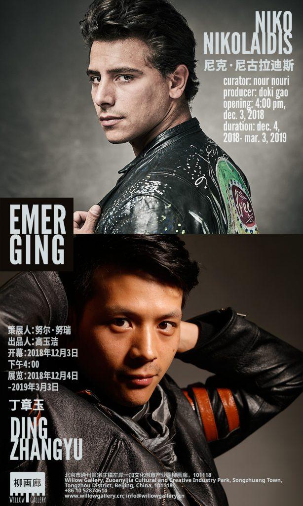 Niko Nikolaidis and Ding Zhangyu: Emerging