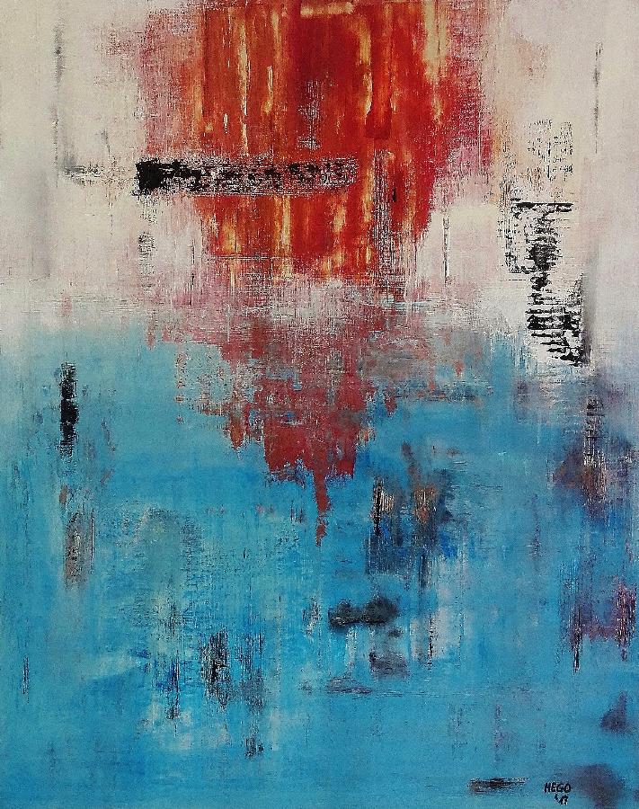 Hego- Weathered Red 'n' Blue